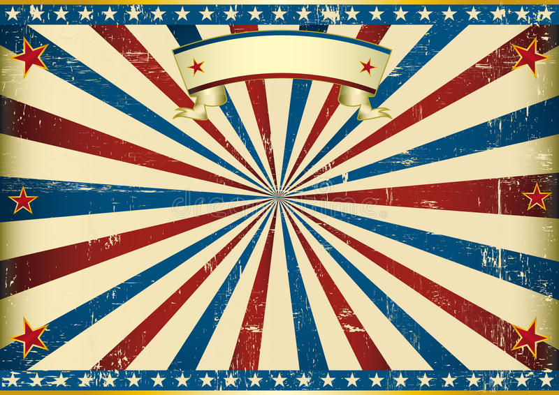 Horizontale geweven Amerikaanse achtergrond royalty-vrije illustratie