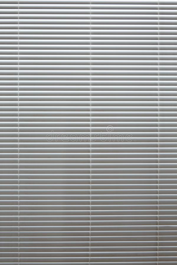 Horizontale Hintergrundblindfarben aus weißem Aluminium lizenzfreies stockbild