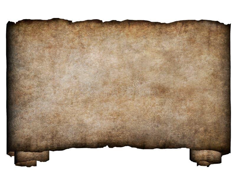Horizontale manuscript1 royalty-vrije illustratie