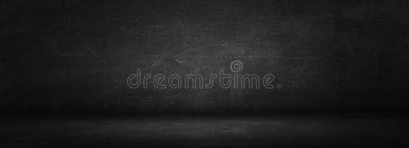 Horizontale schwarze Brett- oder Tafelwandbeschaffenheit und dunkler Bolzen lizenzfreies stockfoto