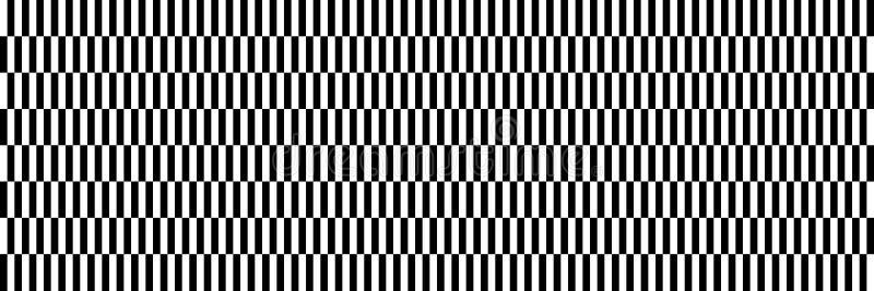 horizontaler Schwarzweiss-Entwurf für Muster und Hintergrund lizenzfreie abbildung