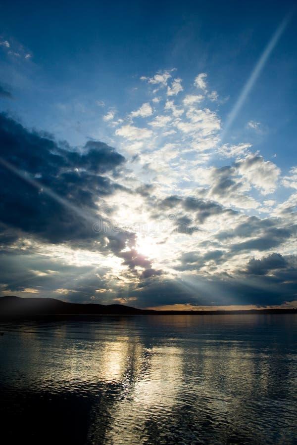 Horizontaux d'océan de séries-Le de photo. images stock