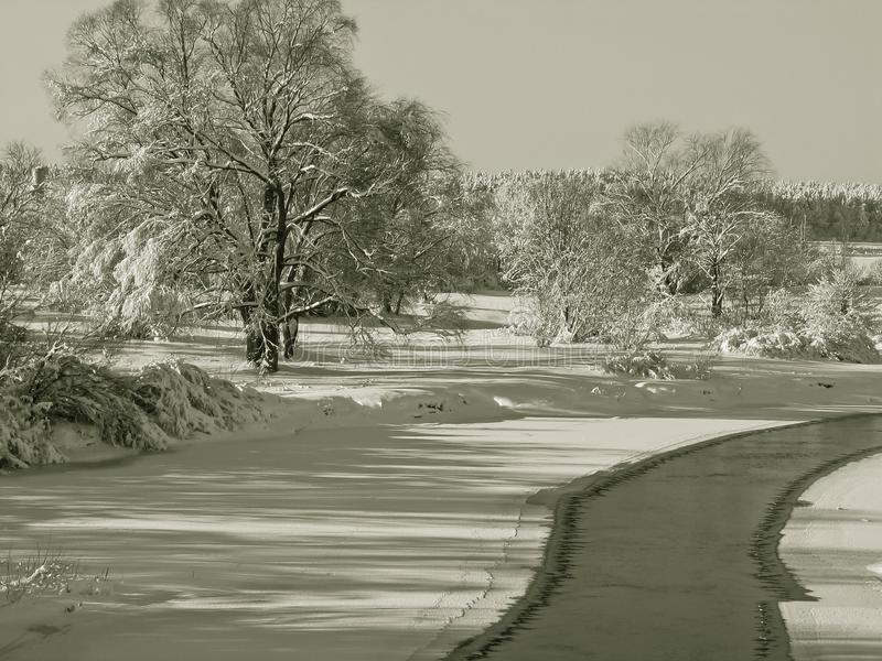 Horizontaux de l hiver