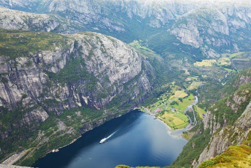 Horizontaux de la Norvège photo libre de droits
