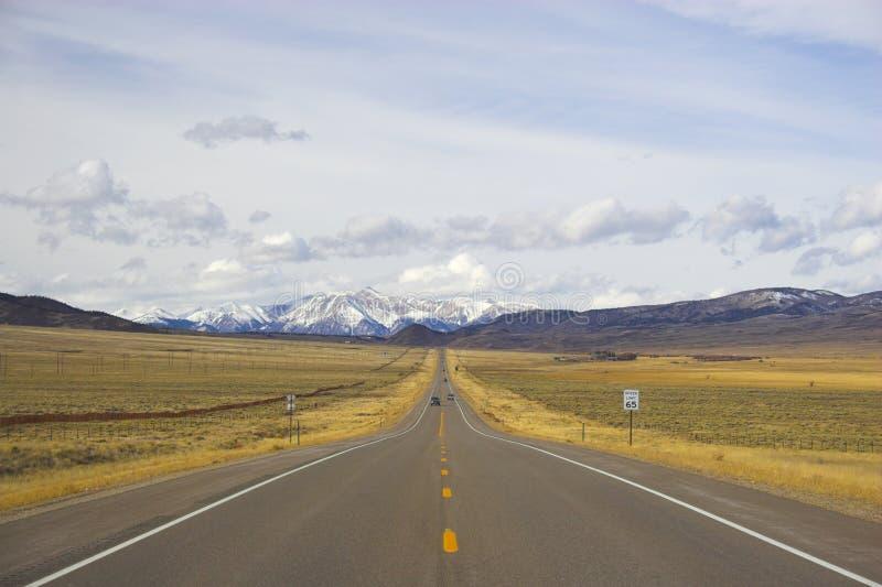 Horizontaux de montagne photo libre de droits