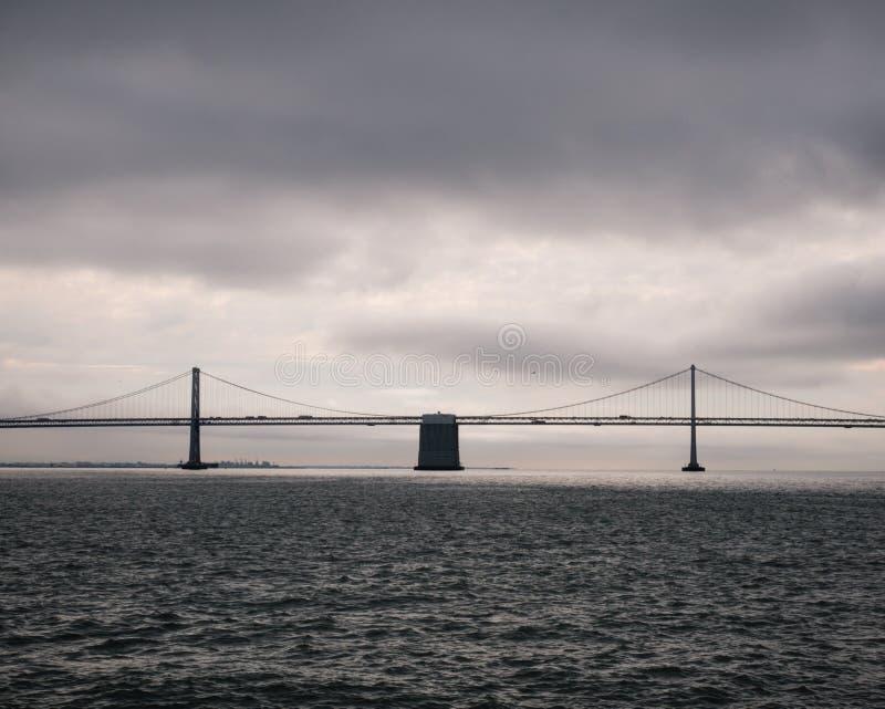 Horizontbrücke lizenzfreies stockbild