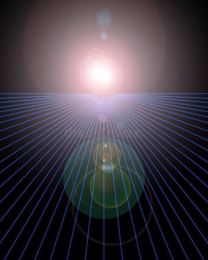 Horizonte ilustración del vector