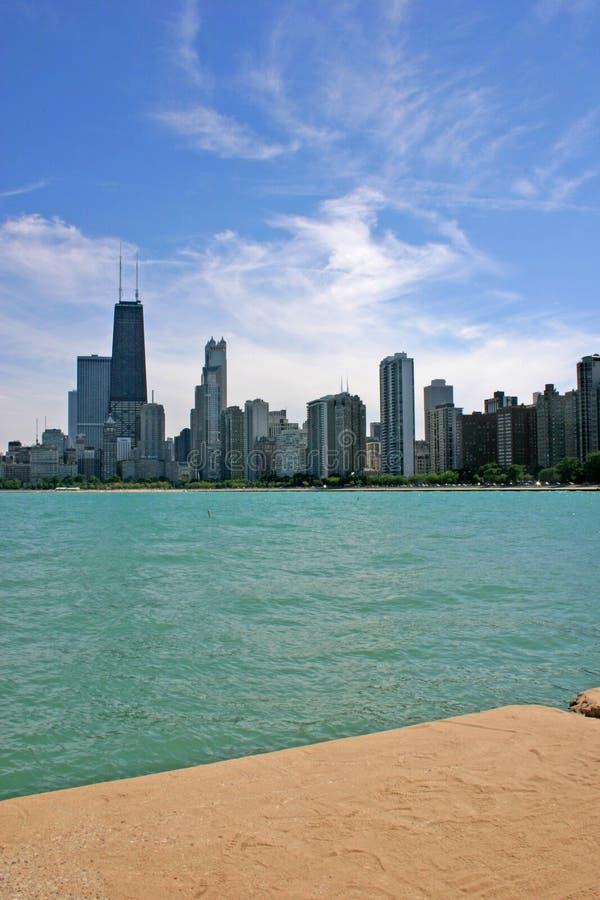 Horizonte 2 de Chicago fotografía de archivo libre de regalías