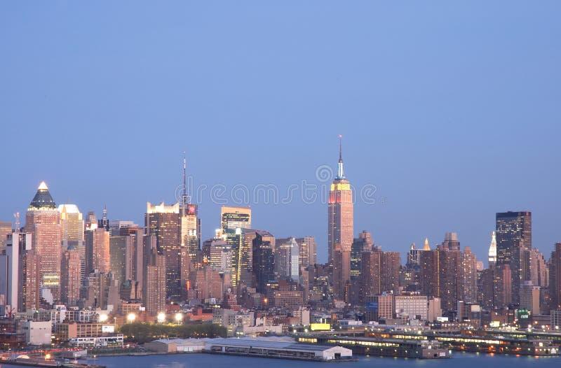 Horizonte 2 de NYC imágenes de archivo libres de regalías