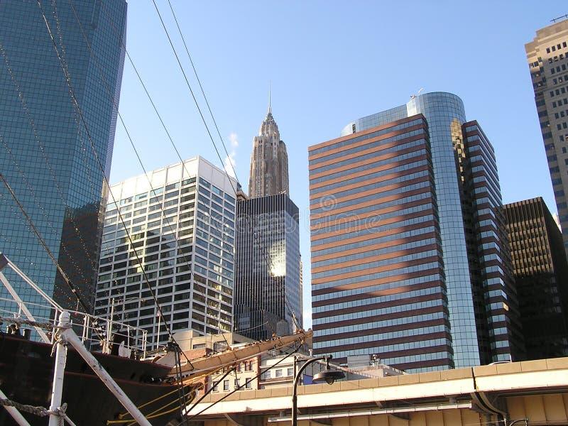 Horizonte 9 de Nueva York foto de archivo libre de regalías