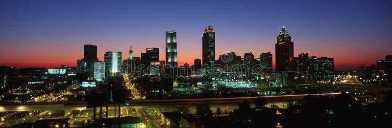 Horizonte de Atlanta imagen de archivo