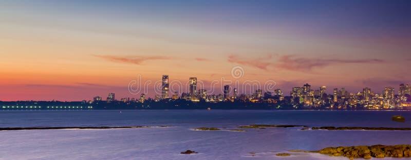 Horizonte de Bombay imágenes de archivo libres de regalías