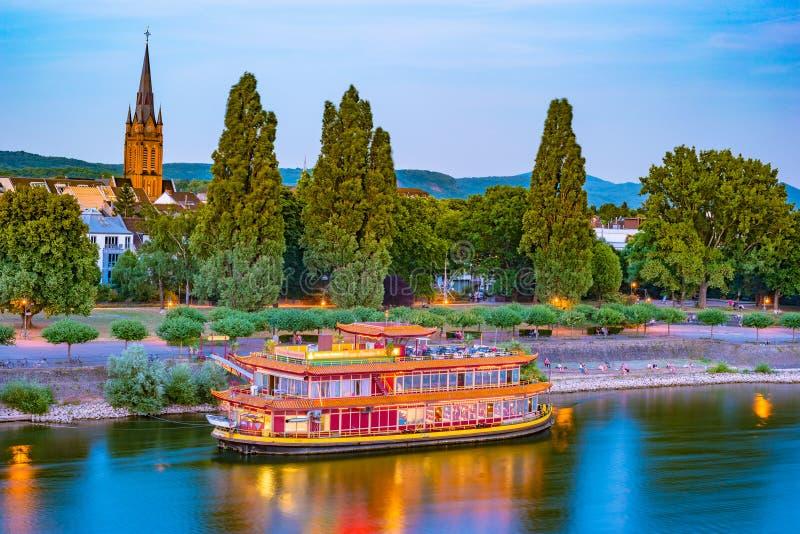 Horizonte de Bonn, Alemania fotografía de archivo libre de regalías