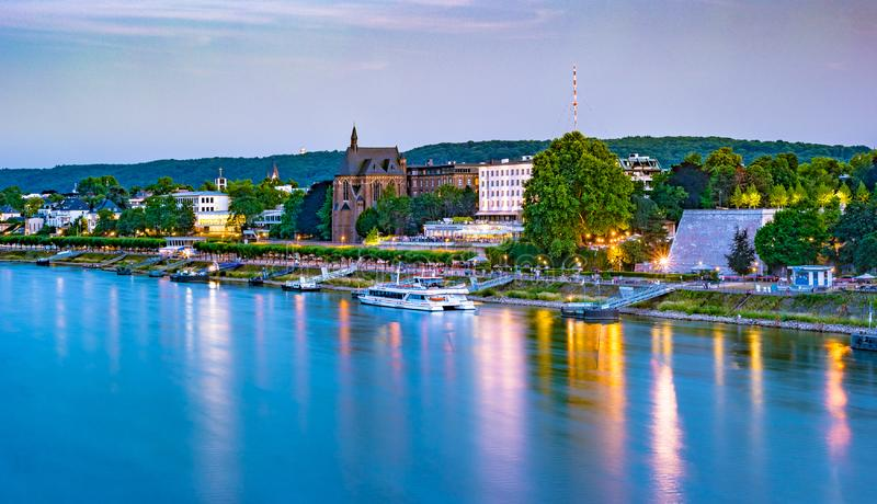 Horizonte de Bonn, Alemania imagen de archivo libre de regalías