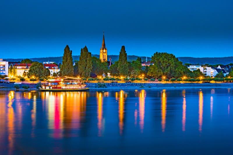 Horizonte de Bonn, Alemania foto de archivo libre de regalías