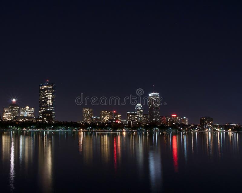 Horizonte de Boston mA fotografía de archivo libre de regalías