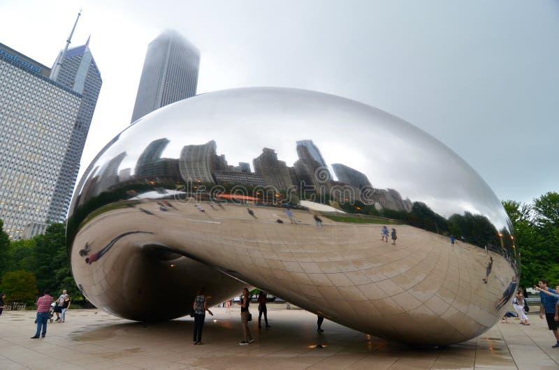 Horizonte de Chicago, los E.E.U.U. imagen de archivo libre de regalías