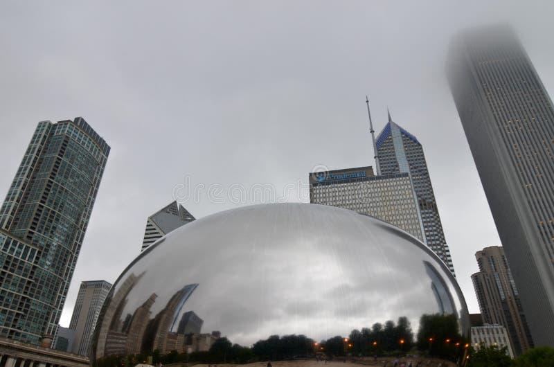 Horizonte de Chicago, los E.E.U.U. fotografía de archivo libre de regalías