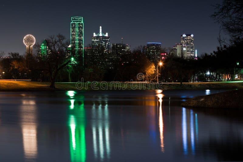 Horizonte de Dallas foto de archivo libre de regalías