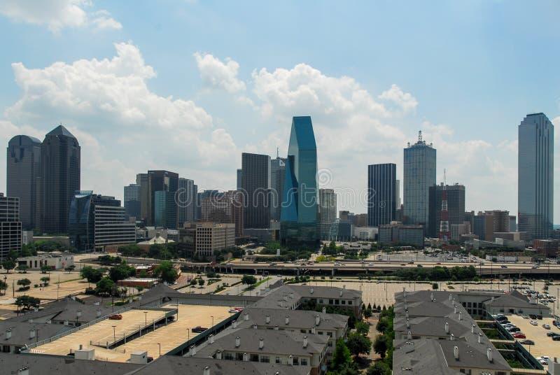 Horizonte de Dallas Tejas imágenes de archivo libres de regalías
