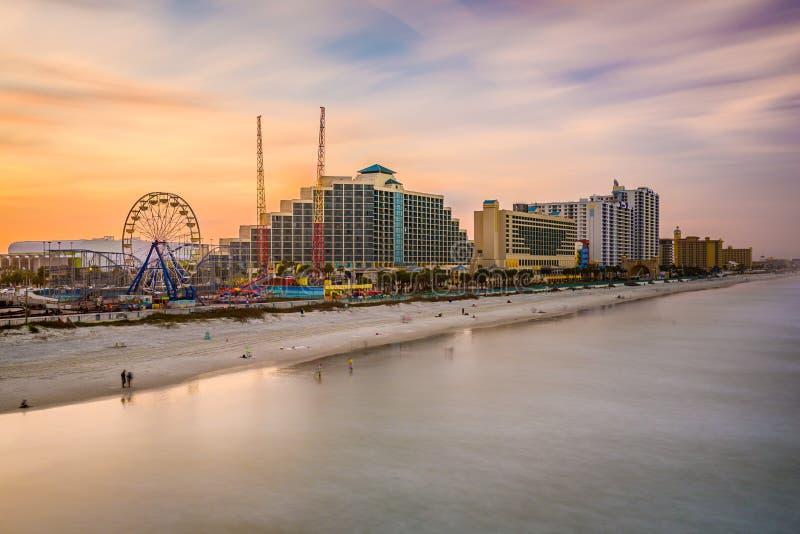 Horizonte de Daytona Beach imagen de archivo libre de regalías