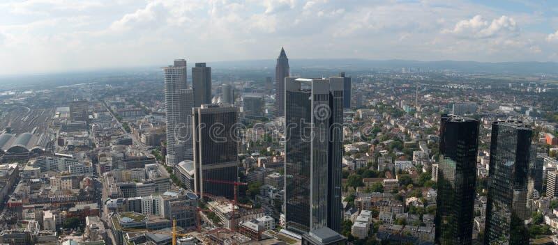 Horizonte de Francfort en Alemania foto de archivo libre de regalías