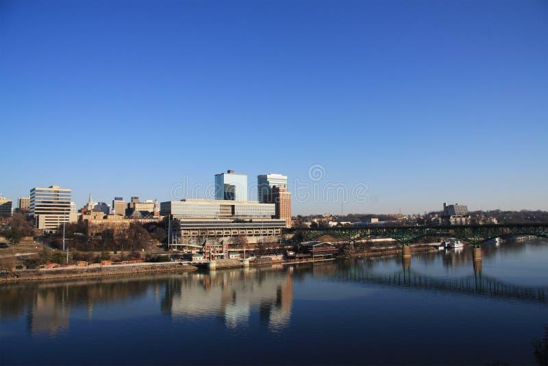 Horizonte de Knoxville fotografía de archivo libre de regalías