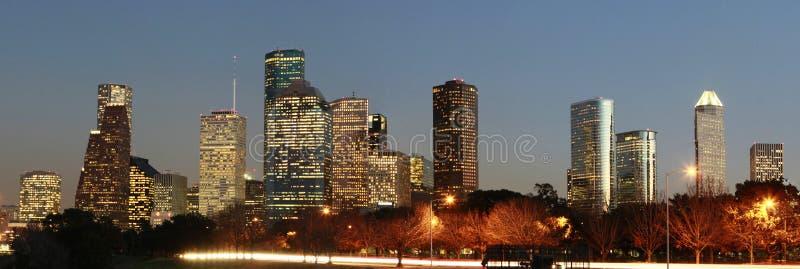 Horizonte de la ciudad de Houston, Tejas fotos de archivo libres de regalías
