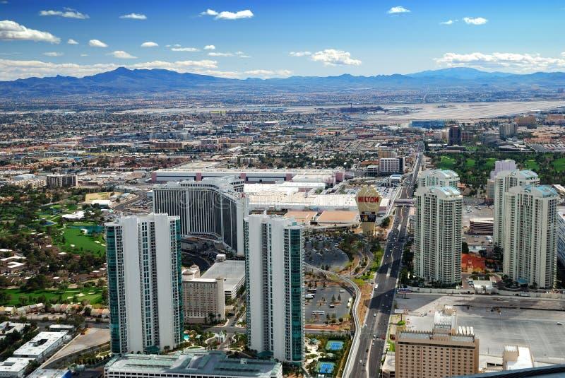 Horizonte de la ciudad de Las Vegas foto de archivo