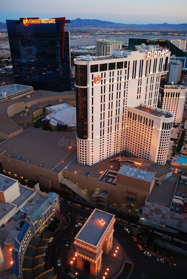 Horizonte de la ciudad, Las Vegas, Nevada. imagen de archivo