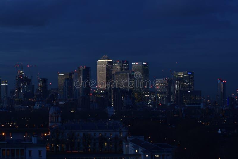 Horizonte de la ciudad de Londres fotografía de archivo