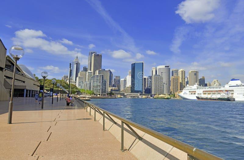 Horizonte de la ciudad, Sydney, Australia imagen de archivo