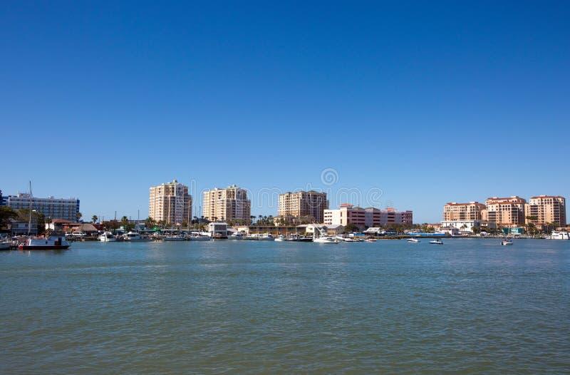 Horizonte de la Florida de la playa de Clearwater fotos de archivo