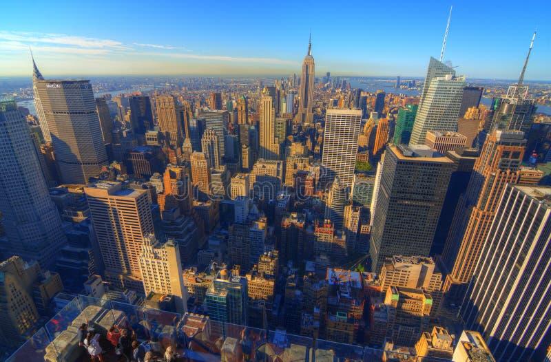 Horizonte de la isla de Manhattan