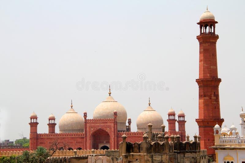 Horizonte de Lahore foto de archivo