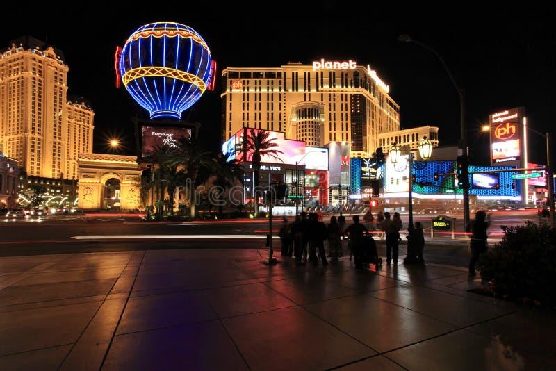 Horizonte de Las Vegas fotografía de archivo