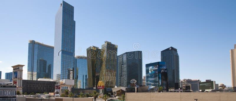 Horizonte de Las Vegas fotos de archivo libres de regalías