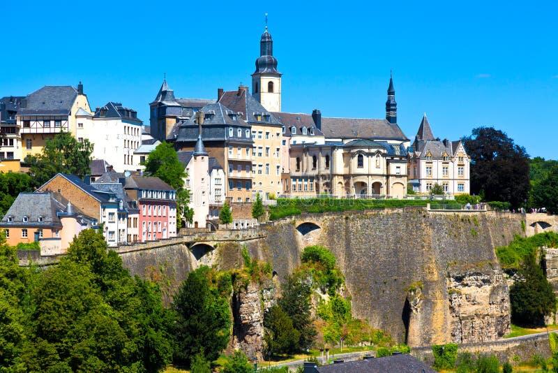 Horizonte de Luxemburgo imágenes de archivo libres de regalías