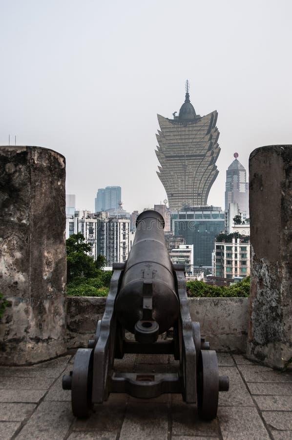 Horizonte de Macao fotos de archivo