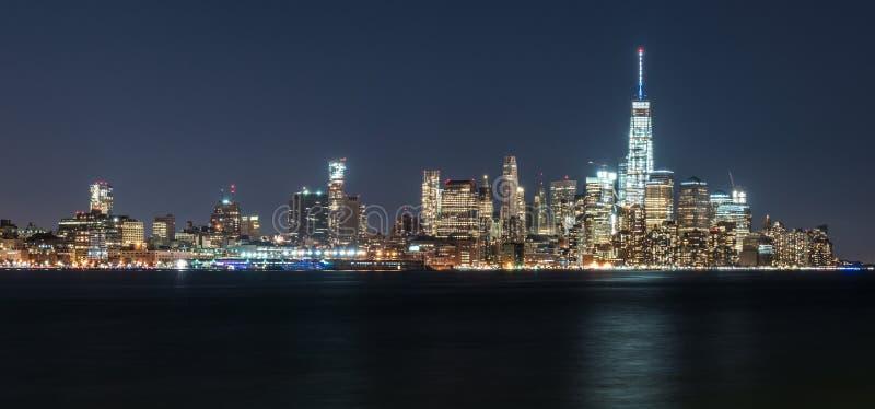 Horizonte de Manhattan Nueva York imagen de archivo libre de regalías