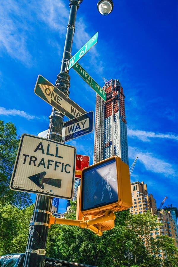 Horizonte de Manhattan, Nueva York imagen de archivo