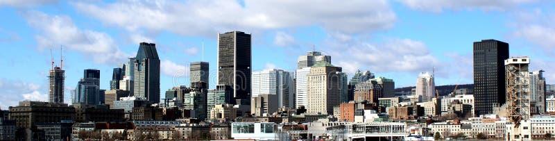 Horizonte de Montreal fotografía de archivo