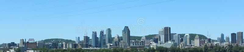Horizonte de Montreal foto de archivo