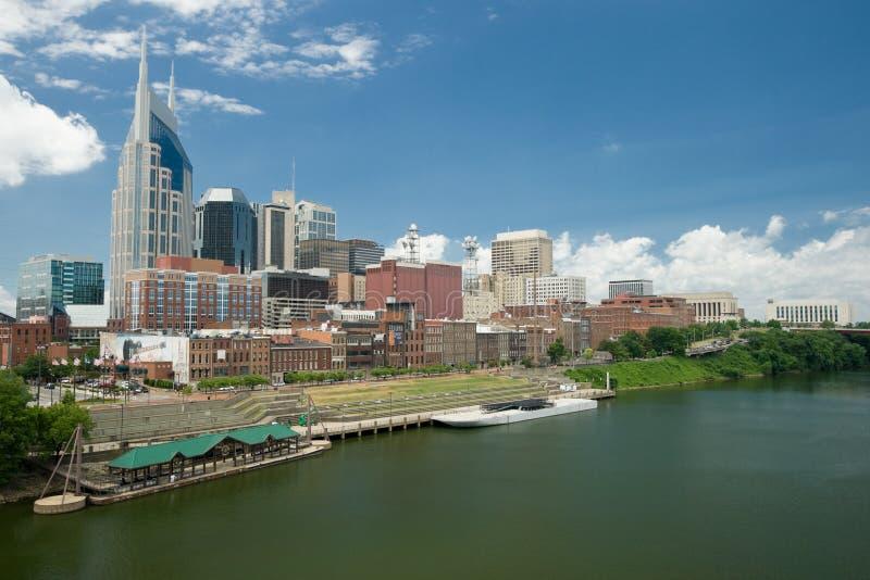 Horizonte de Nashville fotos de archivo libres de regalías