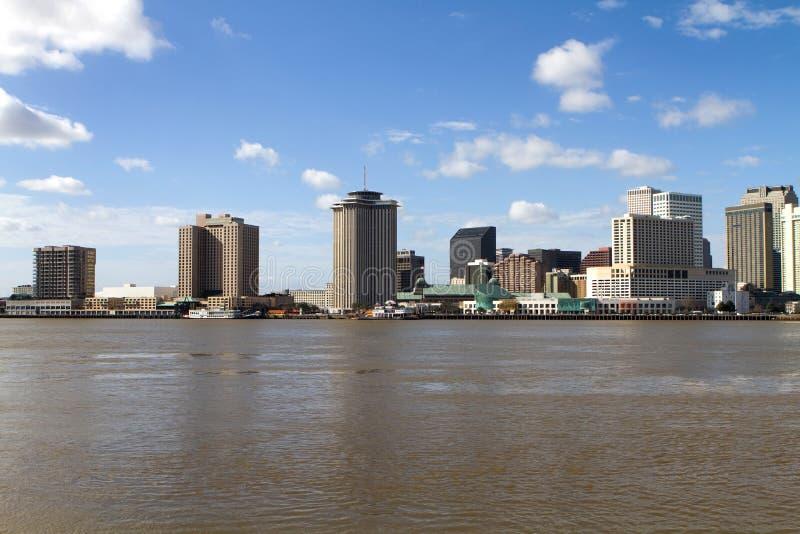 Horizonte de New Orleans imágenes de archivo libres de regalías