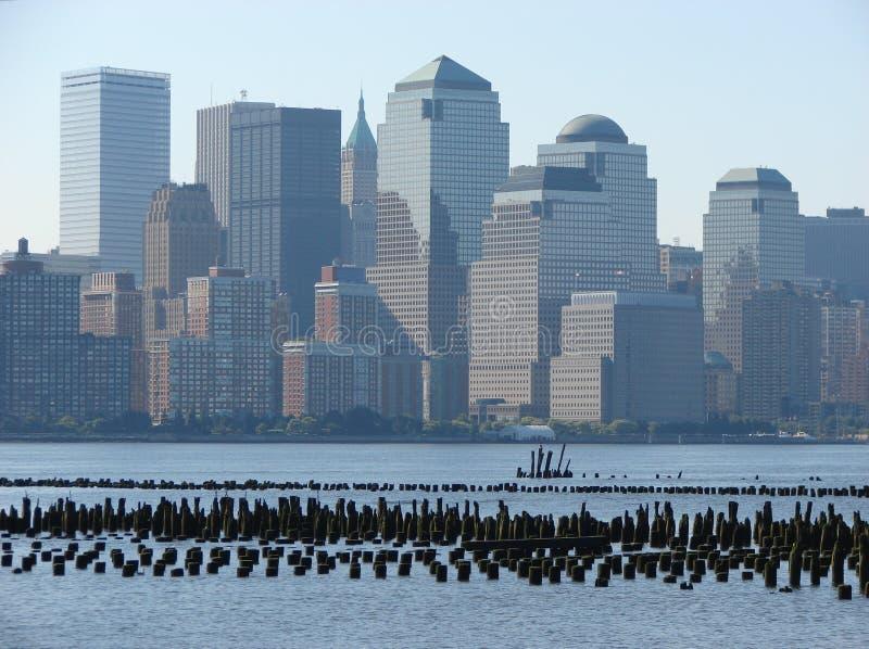 Horizonte de NYC fotos de archivo libres de regalías