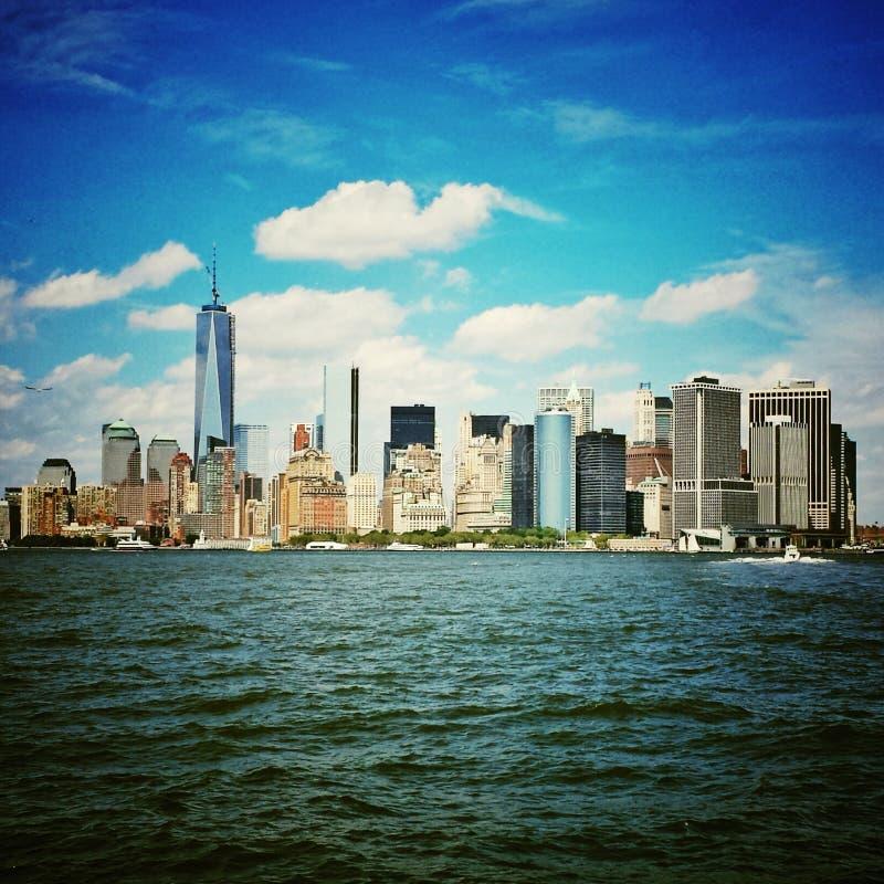 Horizonte de NYC foto de archivo
