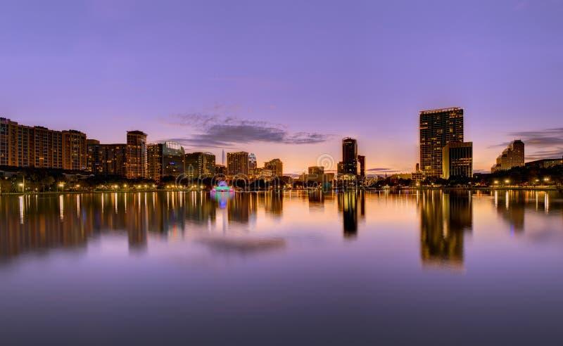 Horizonte de Orlando foto de archivo