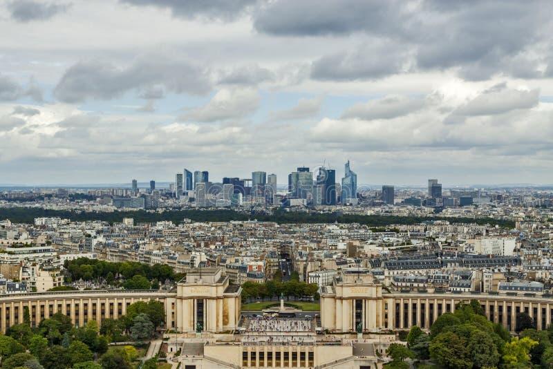 Horizonte de París fotos de archivo libres de regalías