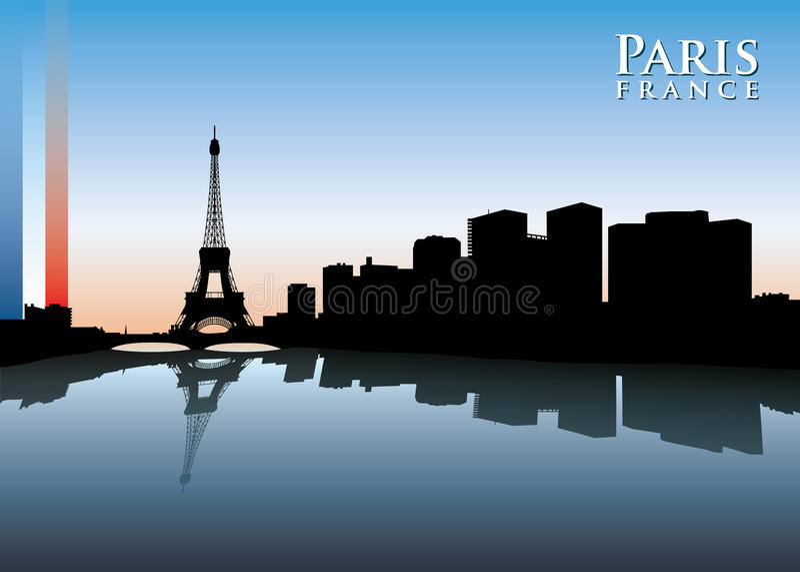 Horizonte de París libre illustration